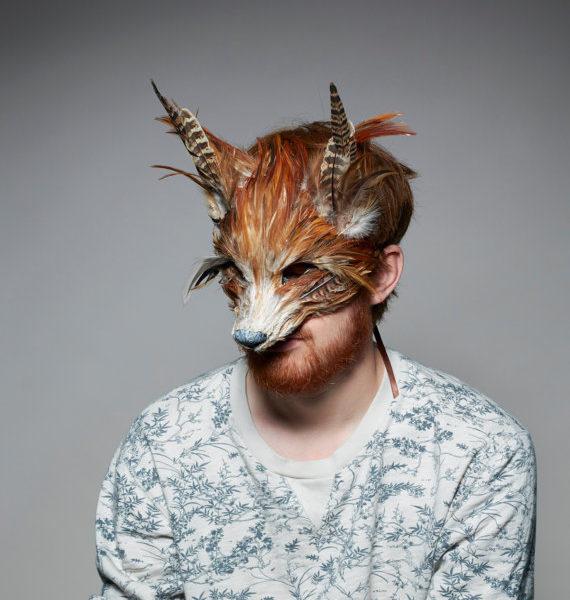 Luxury Red Fox Mask